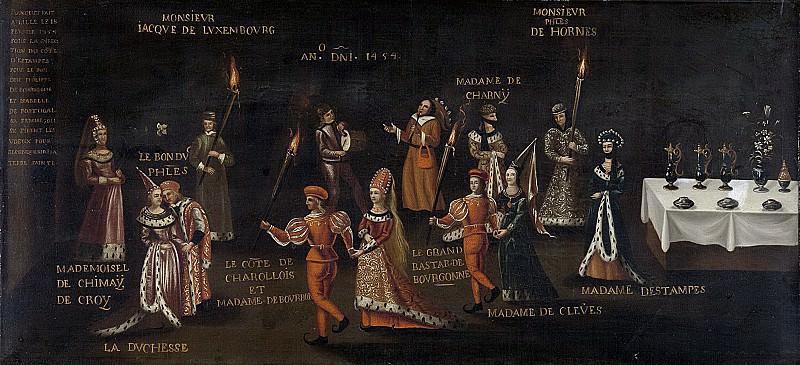 Unknown Artist -- Le voeu du faisan, 1500 - 1599. Rijksmuseum: part 1