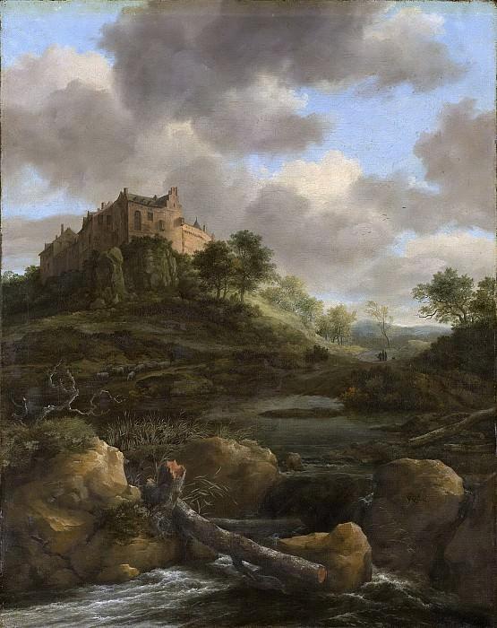 Ruisdael, Jacob Isaacksz. van -- Kasteel Bentheim, 1650-1682. Rijksmuseum: part 1