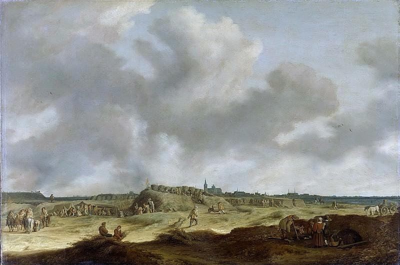 Neyn, Pieter de -- Het beleg van 's-Hertogenbosch door Frederik Hendrik, 1629, 1629 - 1639. Rijksmuseum: part 1