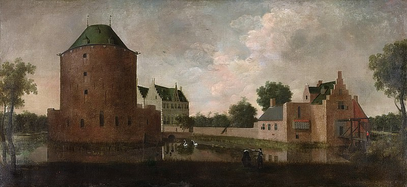Unknown Artist -- Het slot Teylingen, 1640. Rijksmuseum: part 1