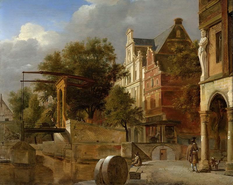 Heyden, Jan van der -- De ophaalbrug, 1660-1672. Rijksmuseum: part 1