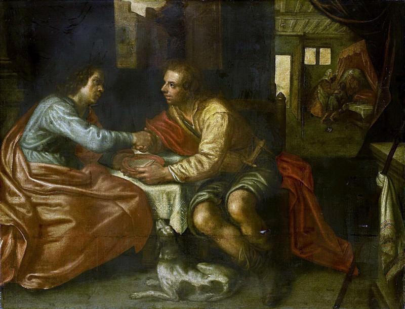 Пауль Морельсе -- Исав, продающий брату свое право первородства, 1609. Рейксмузеум: часть 1