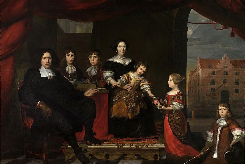 Man, Cornelis de -- Reyer Reyersz van der Burch (1630-95), 1670 - 1680. Rijksmuseum: part 1