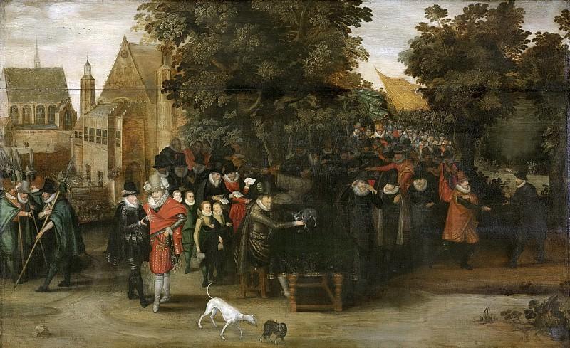 Venne, Adriaen Pietersz. van de -- Satirische voorstelling op de Hollandse politiek omstreeks 1619, 1619-1620. Rijksmuseum: part 1