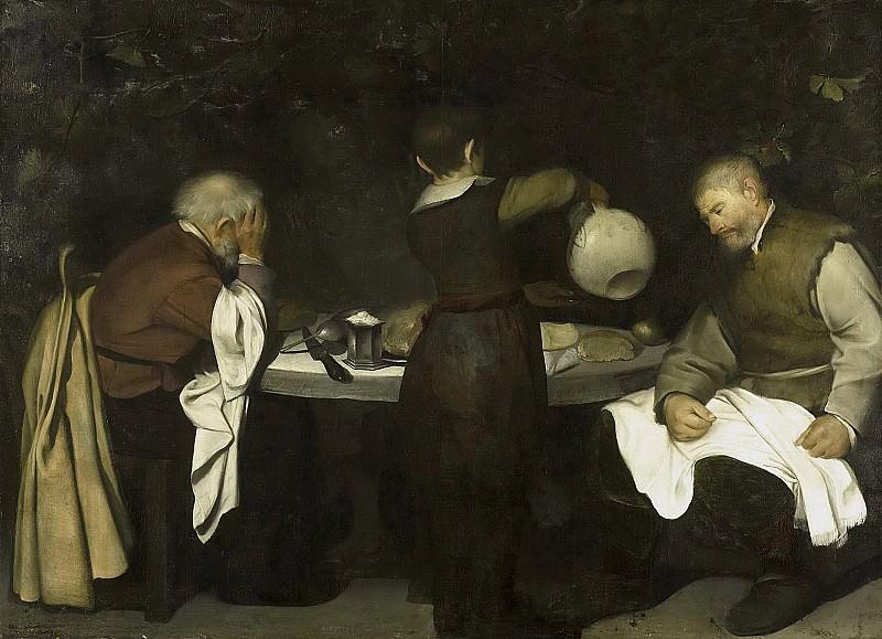Unknown Artist -- De Emmaüsgangers, 1620 - 1680. Rijksmuseum: part 1