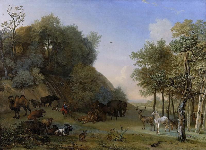 Potter, Paulus -- Orpheus en de dieren, 1650. Rijksmuseum: part 1