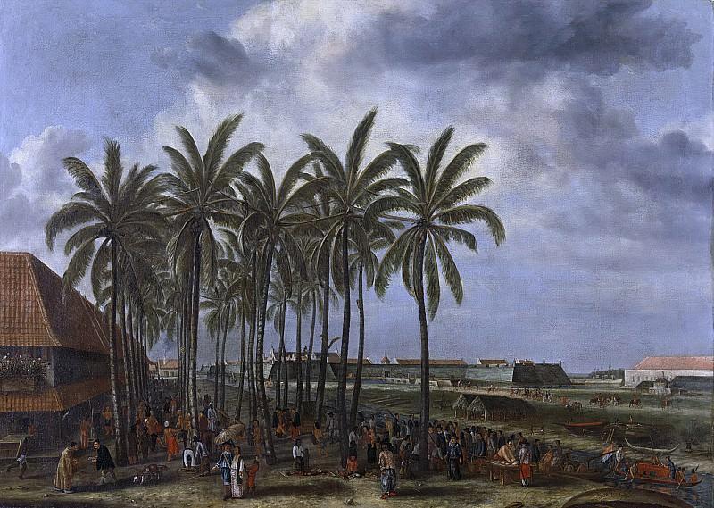 Андрис Бекман -- Замок уважаемого Кали Безара Веста в Батавии, ок. 1656, 1656-1657. Рейксмузеум: часть 1