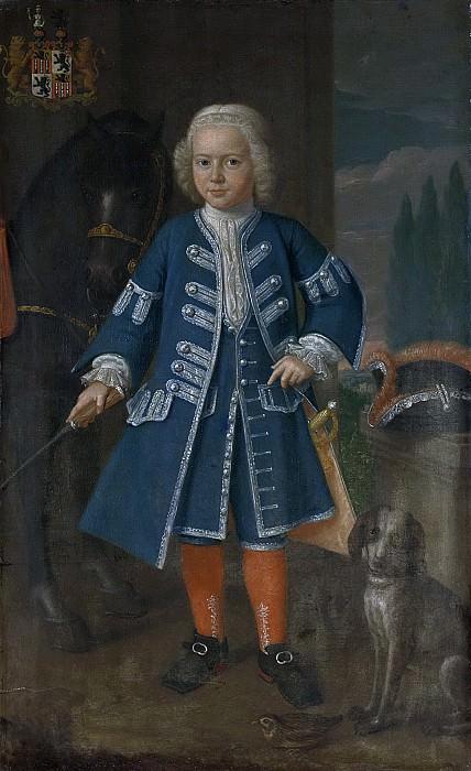 Хармен Серин - Дидерик ван Хемерт (1729-53), господин Бабилониенбрук, в возрасте шести лет, 1735. Рейксмузеум: часть 1