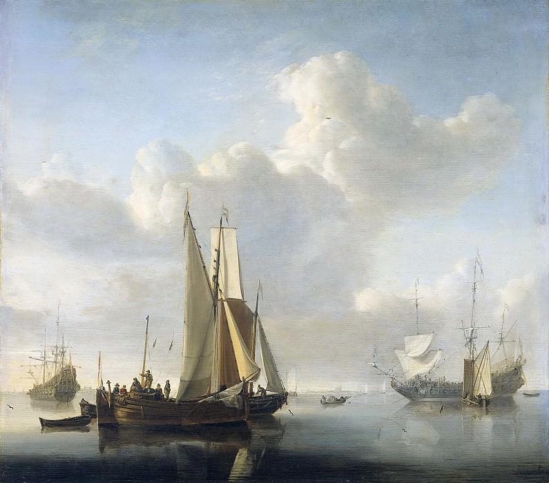 Velde, Willem van de (II) -- Schepen voor de kust, 1650-1707. Rijksmuseum: part 1