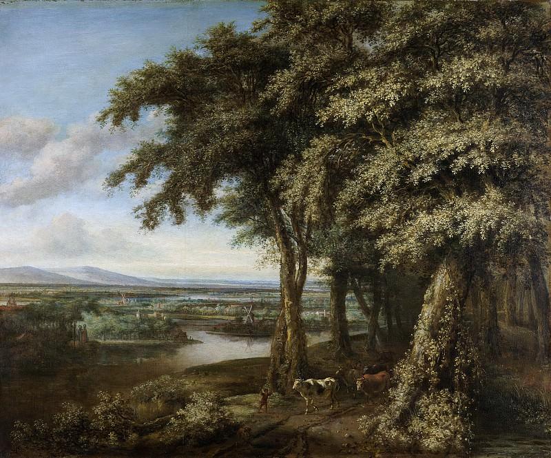 Koninck, Philips -- De ingang van het bos, 1650-1688. Rijksmuseum: part 1