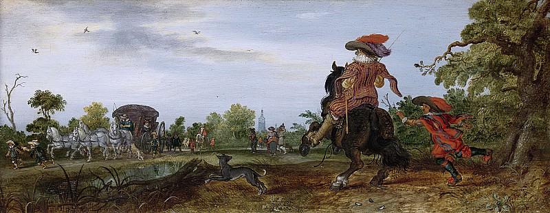 Venne, Adriaen Pietersz. van de -- Zomer, 1625. Rijksmuseum: part 1