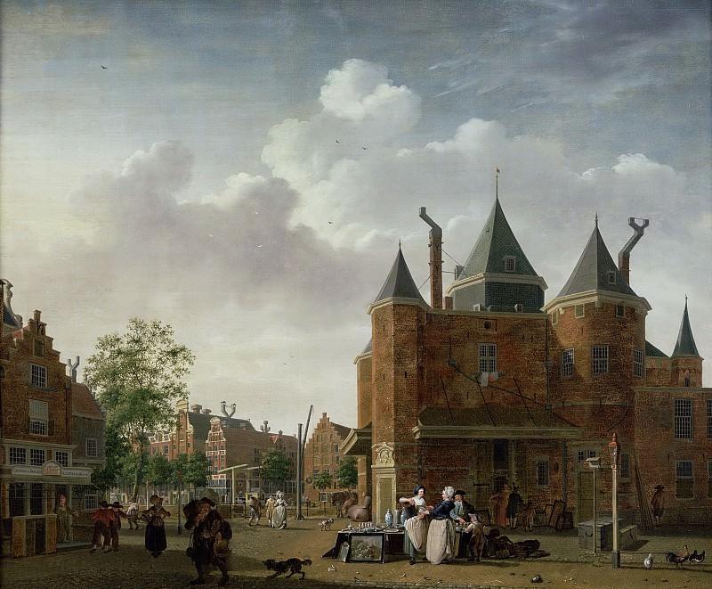 Исаак Оуватер -- Весовая Св. Антония в Амстердаме, 1780-1790. Рейксмузеум: часть 1