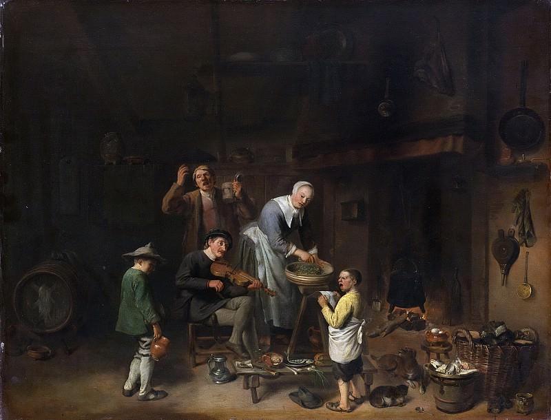 Duyfhuysen, Pieter Jacobsz. -- Zingende boerenfamilie, 1640-1677. Rijksmuseum: part 1