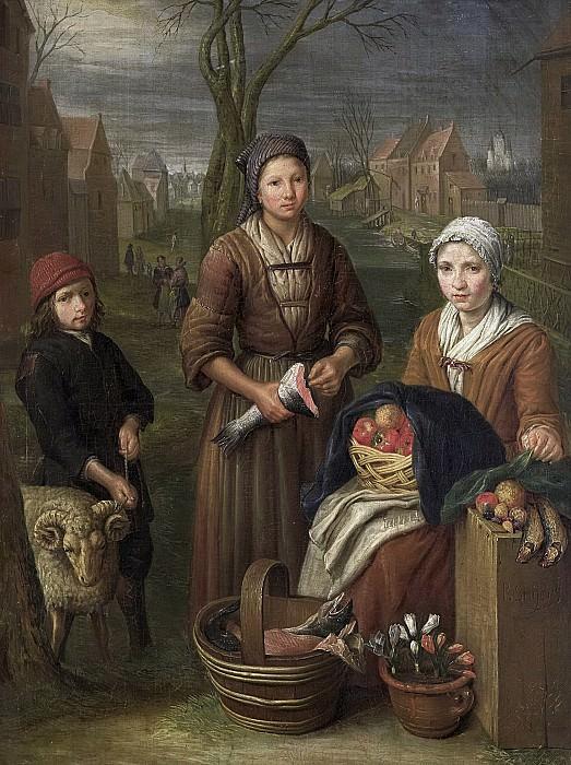 Snijers, Peter -- De koopvrouw, 1700 - 1752. Rijksmuseum: part 1