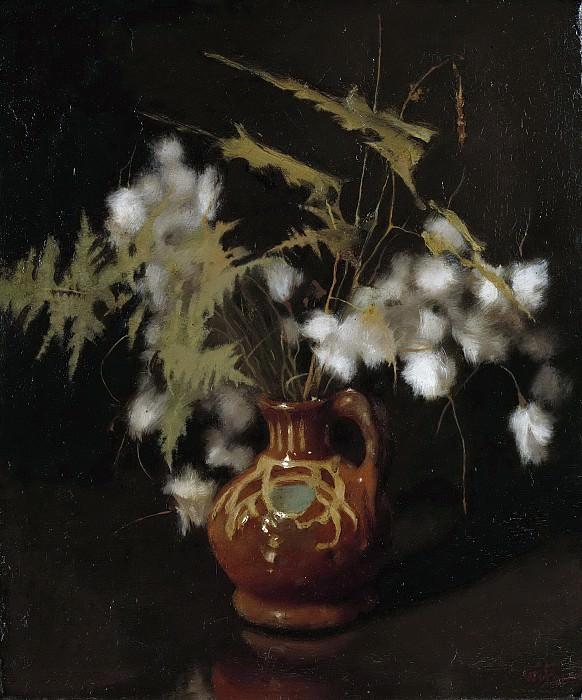 Witsen, Willem -- Kruikje met pluisbloemen, 1885 - 1922. Rijksmuseum: part 1