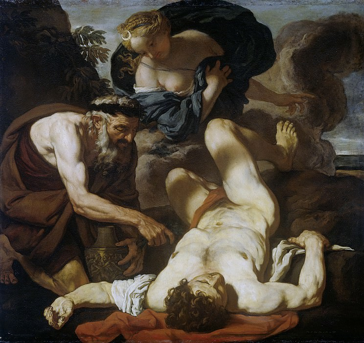 Лот, Йоханн Карл -- Селена и Эндимион, 1660-80. Рейксмузеум: часть 1