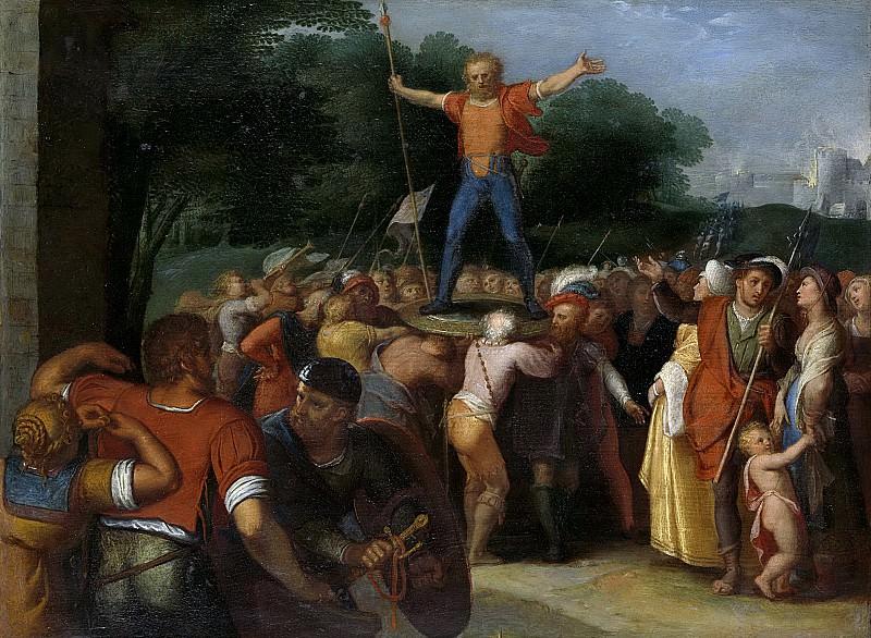 Veen, Otto van -- Brinio op het schild geheven, 1600-1613. Rijksmuseum: part 1