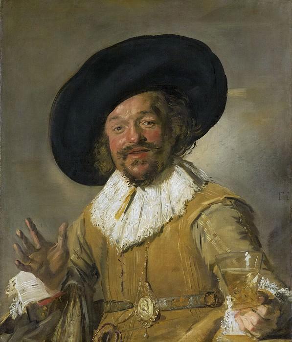Hals, Frans -- Een schutter die een berkenmeier vasthoudt, bekend als. Rijksmuseum: part 1