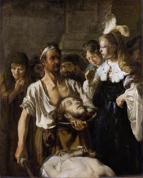 Rembrandt Harmensz. van Rijn -- De onthoofding van Johannes de Doper, 1640-1645. Rijksmuseum: part 1