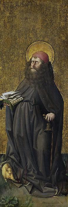 Meester E.S. -- De heilige Antonius de Heremiet, 1460. Rijksmuseum: part 1