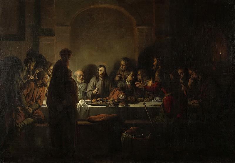 Eeckhout, Gerbrand van den -- Het laatste avondmaal, 1664. Rijksmuseum: part 1