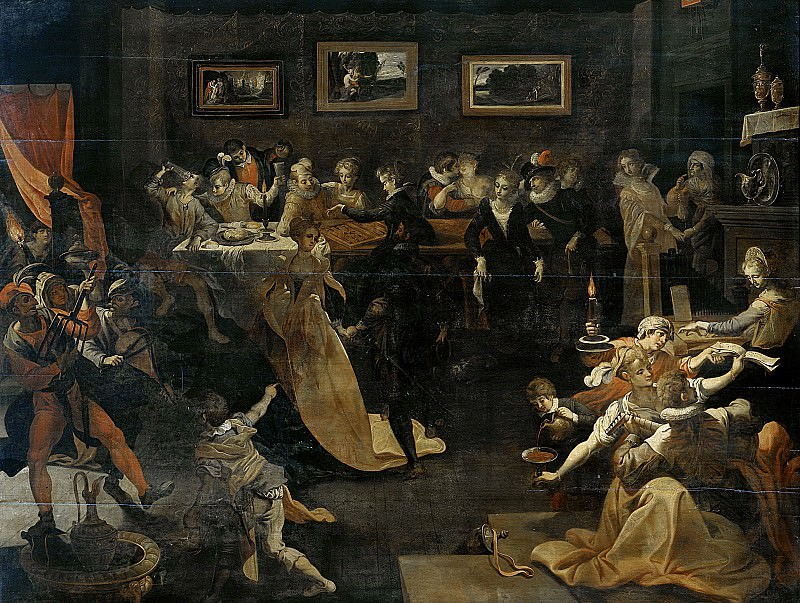 Winghe, Joos van -- Nachtbanket en maskerade, 1580-1630. Rijksmuseum: part 1