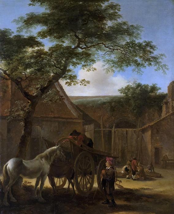 Both, Jan -- Boerenerf., 1630-1670. Rijksmuseum: part 1