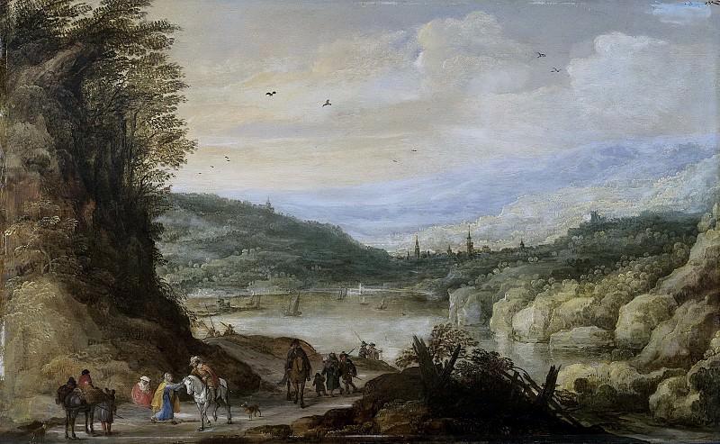 Momper, Joos de (II) -- Landschap, 1590-1635. Rijksmuseum: part 1