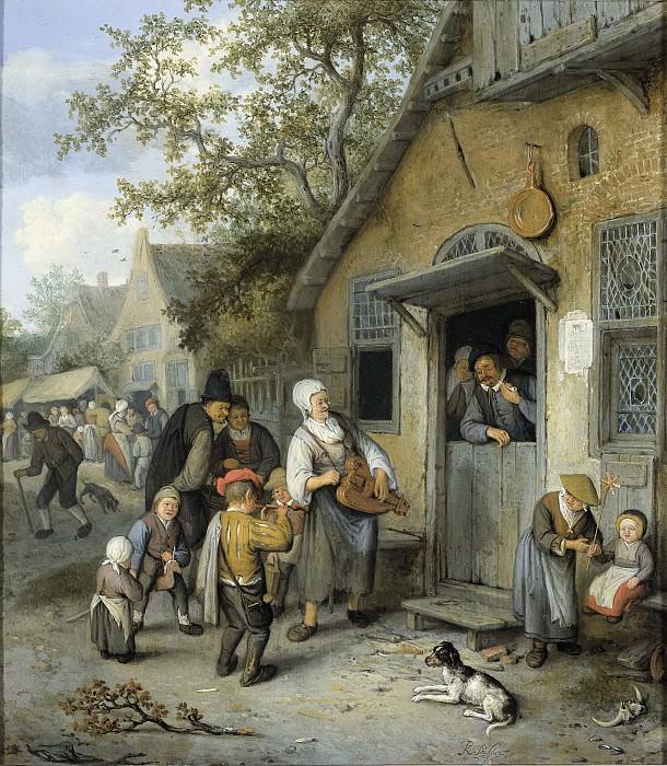 Dusart, Cornelis -- Boerenkermis, 1680-1704. Rijksmuseum: part 1