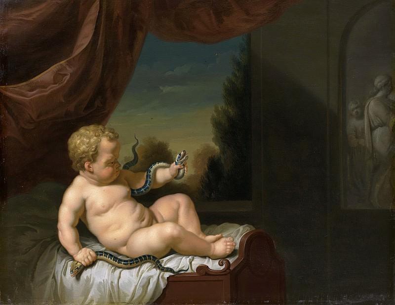 Werff, Pieter van der -- De jonge Hercules met de slangen, 1700 - 1722. Rijksmuseum: part 1