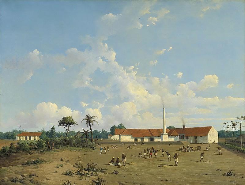 Salm, Ab -- De suikerfabriek 'Kemanglen' bij Tegal (of Tagal) op Java, 1870 - 1875. Rijksmuseum: part 1