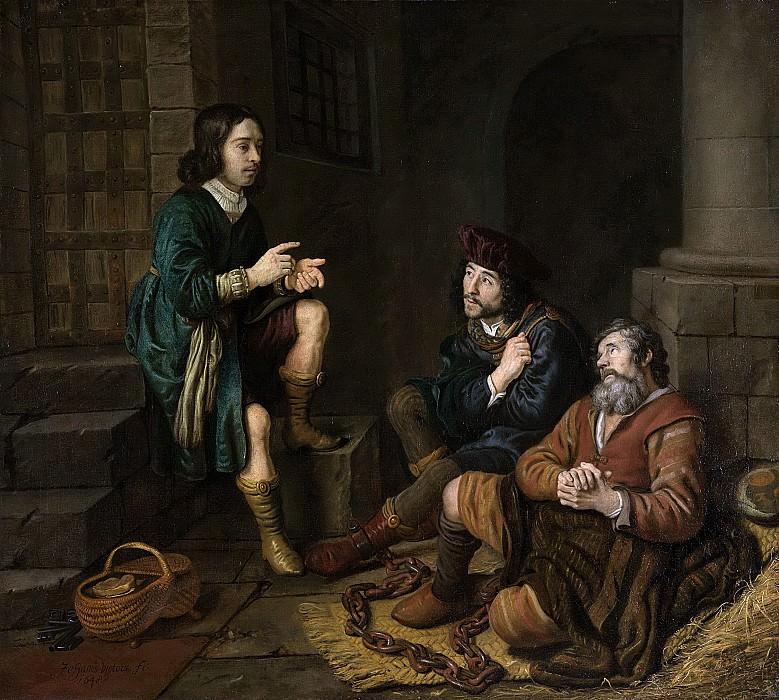 Ян Викторс - Иосиф, явившийся пекарю и трактирщику в мечтах, 1648. Рейксмузеум: часть 1
