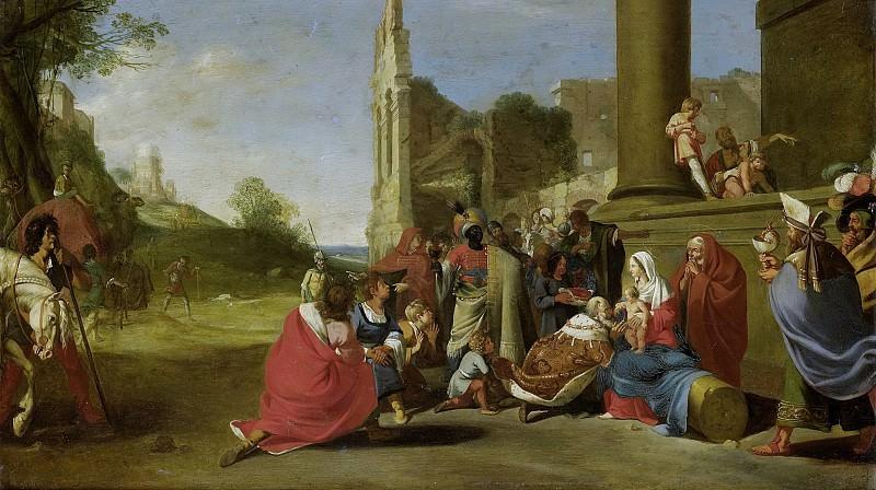 Breenbergh, Bartholomeus -- De aanbidding der koningen, 1640 - 1650. Rijksmuseum: part 1
