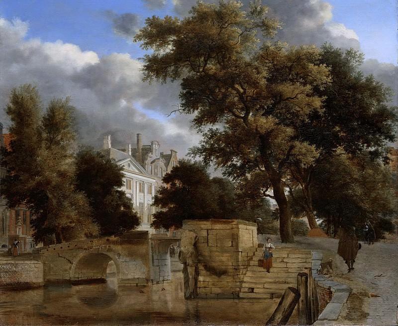Heyden, Jan van der -- De stenen brug, 1660-1672. Rijksmuseum: part 1