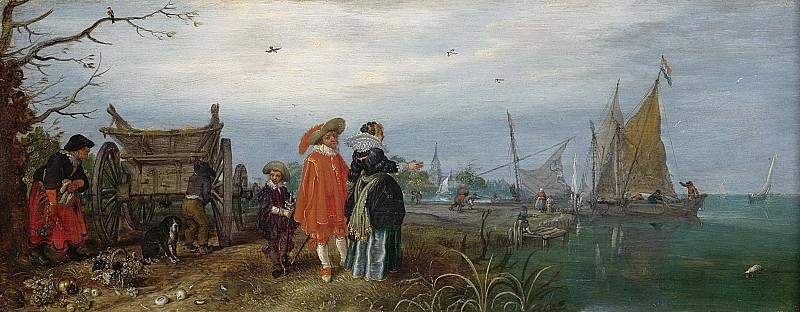 Venne, Adriaen Pietersz. van de -- Herfst, 1625. Rijksmuseum: part 1