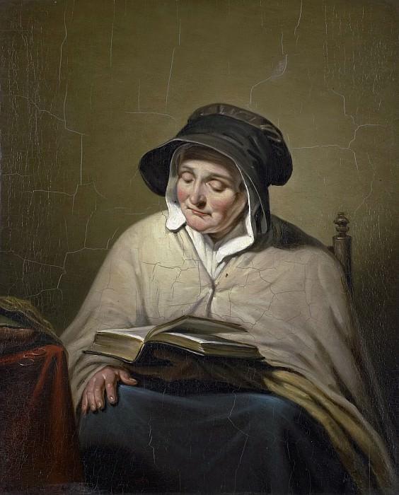 Kruseman, Cornelis -- Lezende oude vrouw, 1820 - 1833. Rijksmuseum: part 1