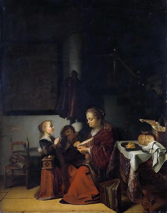 Slabbaert, Karel -- Het ontbijt, 1640-1654. Rijksmuseum: part 1