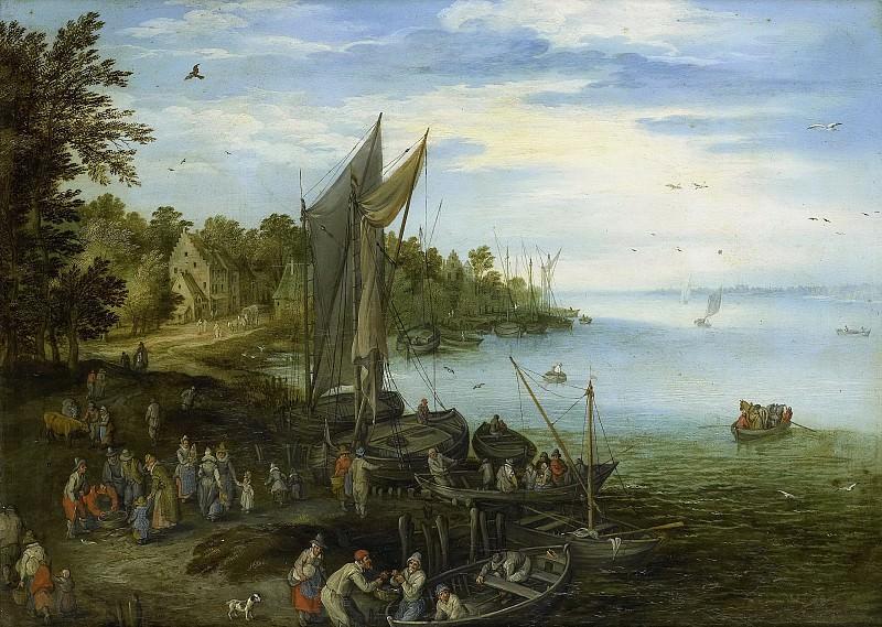 Brueghel, Jan (I) -- Rivieroever., 1600-1650. Rijksmuseum: part 1