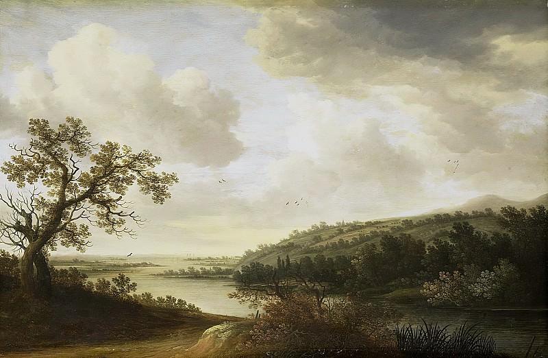Схуфф, Йохан Питерс - Река, 1631. Рейксмузеум: часть 1