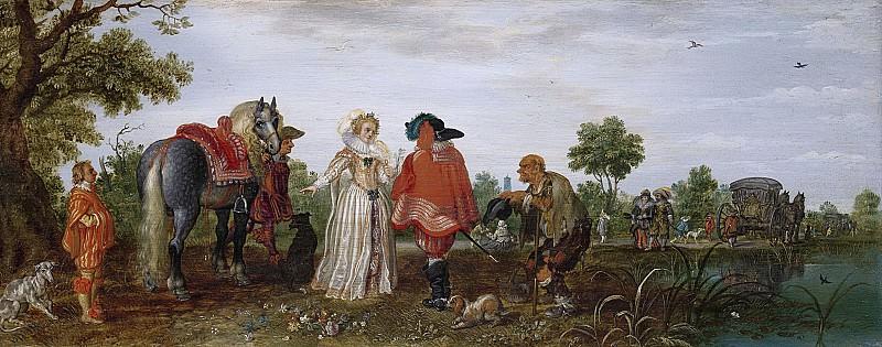Venne, Adriaen Pietersz. van de -- Lente, 1625. Rijksmuseum: part 1