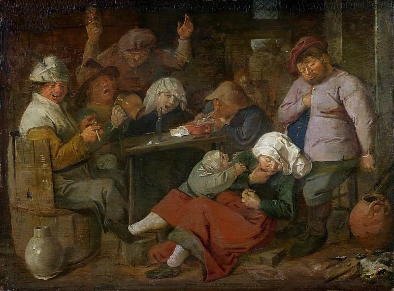 Brouwer, Adriaen -- Boerendrinkpartij, 1620-1630. Rijksmuseum: part 1