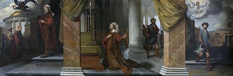 Fabritius, Barent -- De Farizeeër en de tollenaar, 1661. Rijksmuseum: part 1