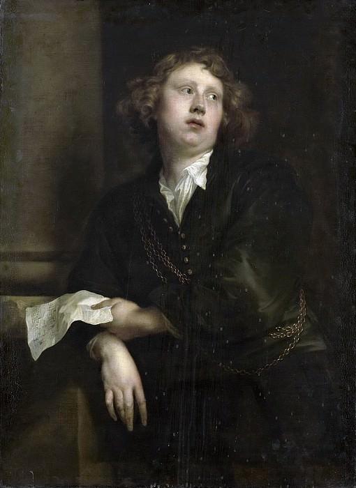 Dyck, Anthony van -- Portret van Henricus Liberti (1628-61). Componist en organist, 1638 - 1800. Rijksmuseum: part 1