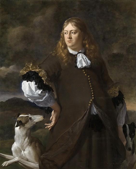 Карель Дюжарден -- Йохан Рейнст (1635-95). Г-н ван Дракенстейн и де Вурсхе, капитан отряда горожан Амстердама в 1672 г.. Рейксмузеум: часть 1