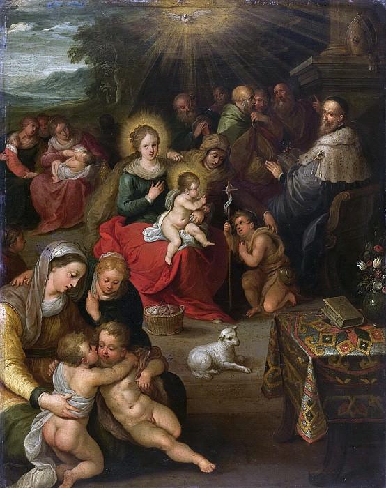 Francken, Frans (II) -- Allegorie op het Christuskind als het lam Gods, 1616. Rijksmuseum: part 1