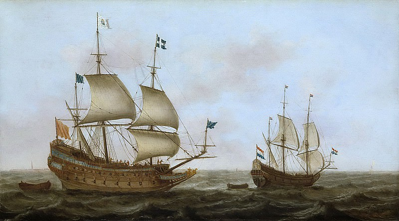 Loef, Jacob Gerritz. -- Een oorlogsschip, 1626 - 1635. Rijksmuseum: part 1