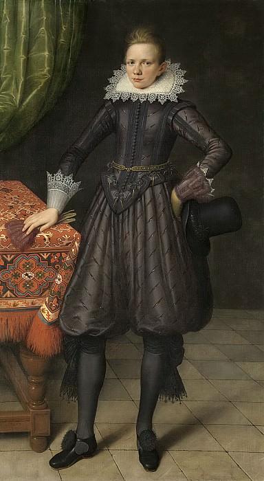 Саломон Месдах -- Портрет рыцаря Петера Куртена (1599-1624), 1617. Рейксмузеум: часть 1