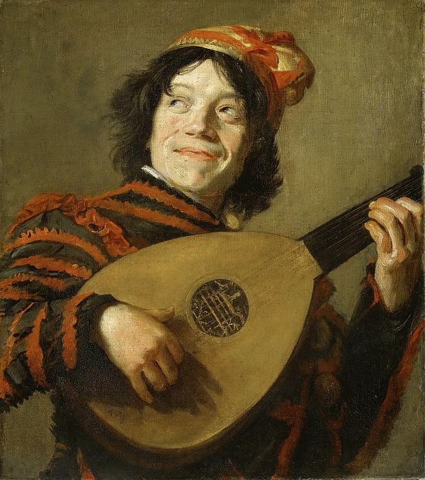 Hals, Frans -- De luitspeler, 1623-1624. Rijksmuseum: part 1
