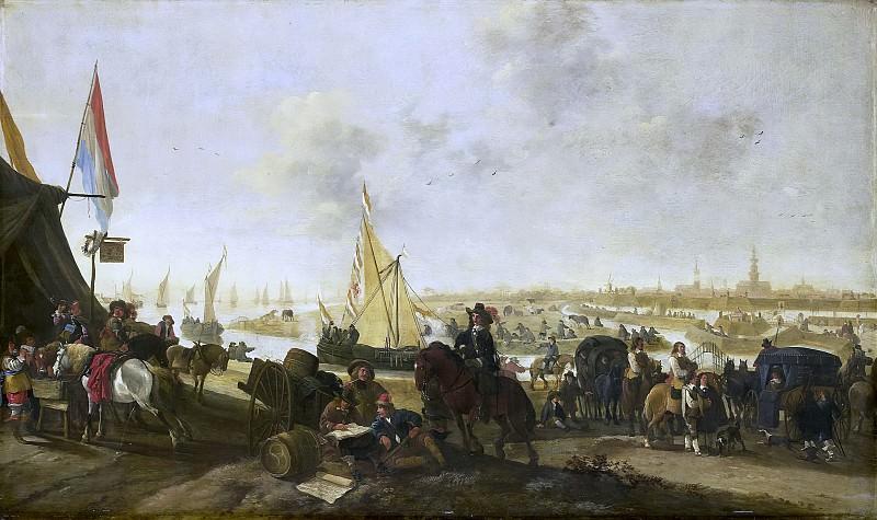 Meijer, Hendrick de -- De verovering van de stad Hulst op de Spanjaarden, 5 november 1645, 1645. Rijksmuseum: part 1
