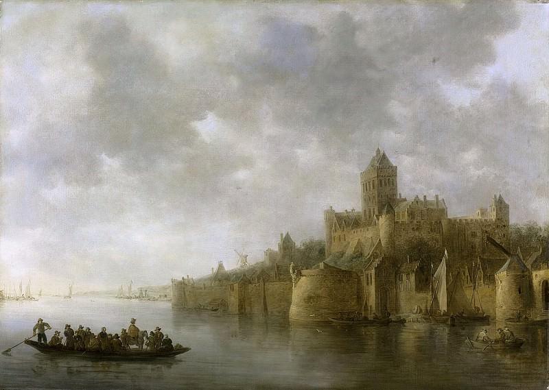 Goyen, Jan van -- Het Valkhof in Nijmegen, 1641. Rijksmuseum: part 1